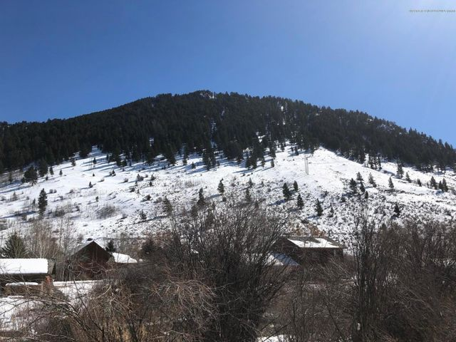 View of Snow King mountain