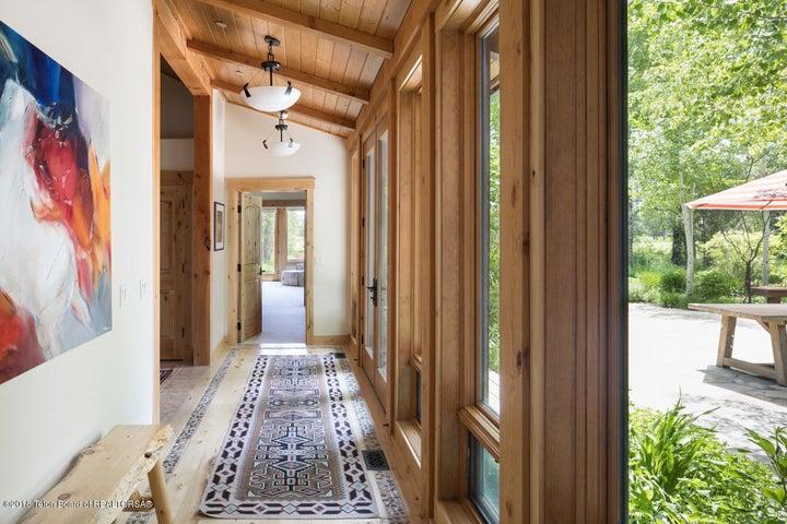 Main Hallway to Master Suite