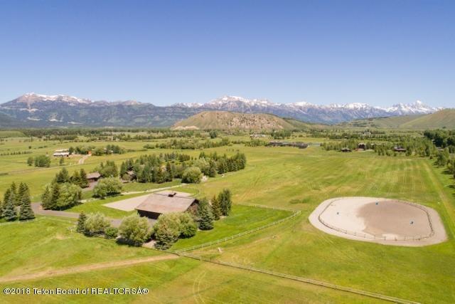 40. Aerial of barn