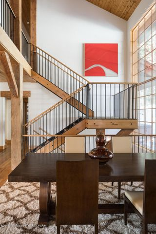 Stairs and Dining