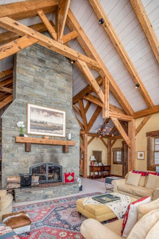 Living Room Timbers