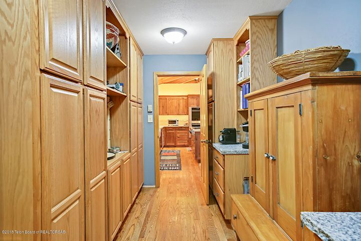 Butler's Pantry off Kitchen