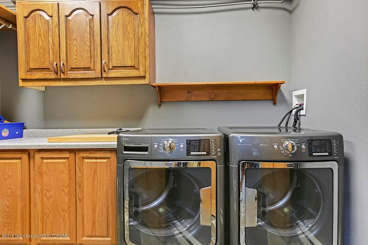Laundry Room off Mudroom