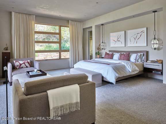 Master Bedrooms with Patio Doors