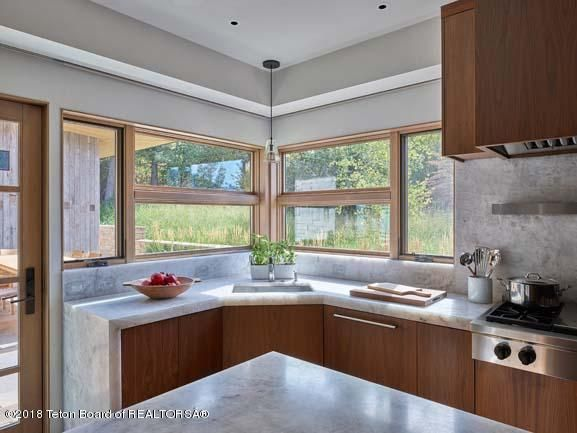 Waterfall Quartz Counter Tops and Views