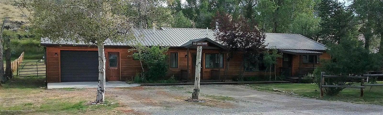55 W LAKE RD, Pinedale, WY 82941