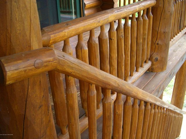 Detail of Exterior Log Work 1