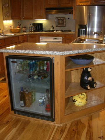 Kitchen Beverage Refrigerator