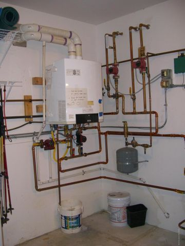 Mechanical Room Hydronics