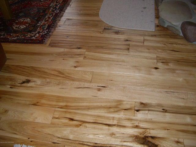 Scraped Hickory Wood Floors