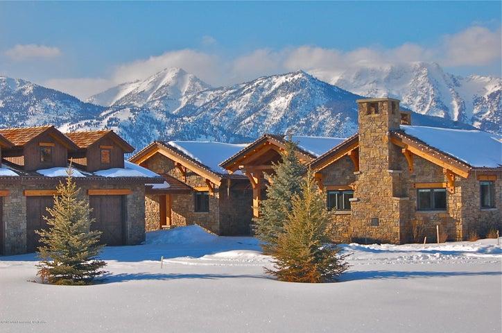 Winter West View