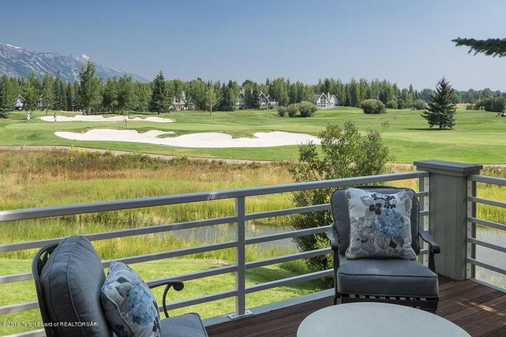 14- Front Line Golf Course + Teton Views