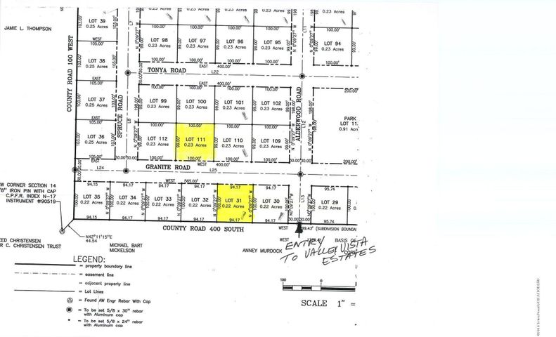 23 DIF LOT GRANITE RD, Victor, ID 83455