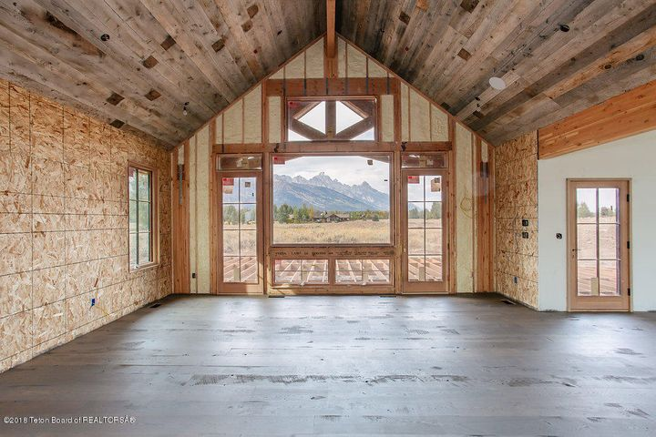 Great Room with Grand Teton views
