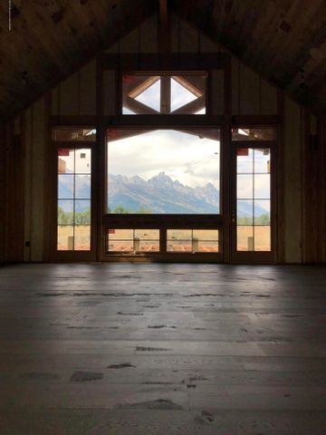 Framed Grand Teton Views