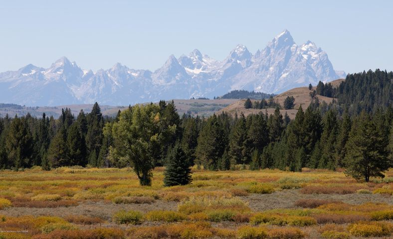 Grand Teton Fall View from Cabin