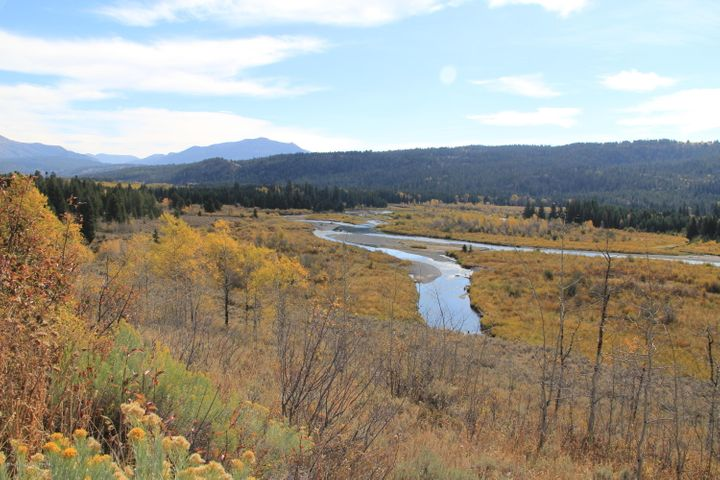 Buffalo Fork in Fall