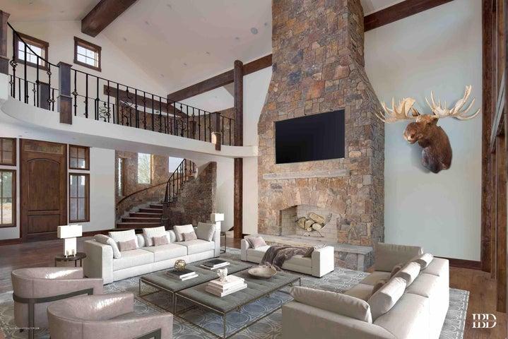 Owl Creek Living room