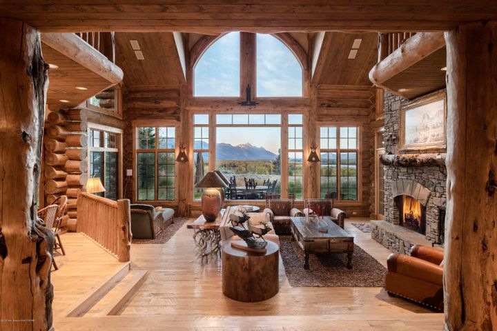 Beautiful Log Beams