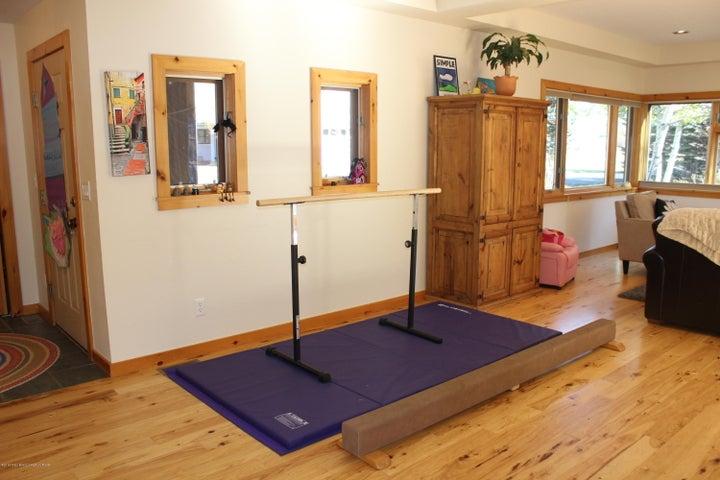 Formal Dining area or Gymnastics Gym