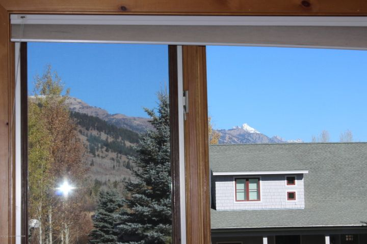 Master Bedroom Window View to North