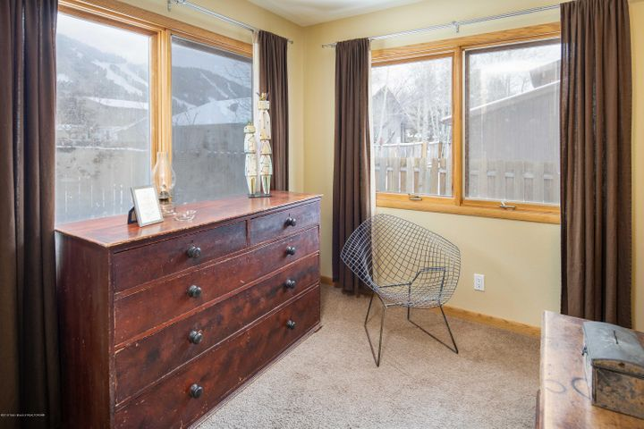 Master Bedroom View of Snow King