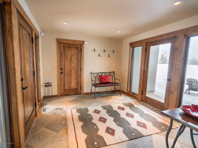 Downstairs Deck Door