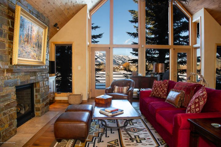 Living Room Teton View