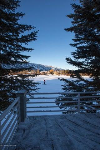 Teton View Deck Vert