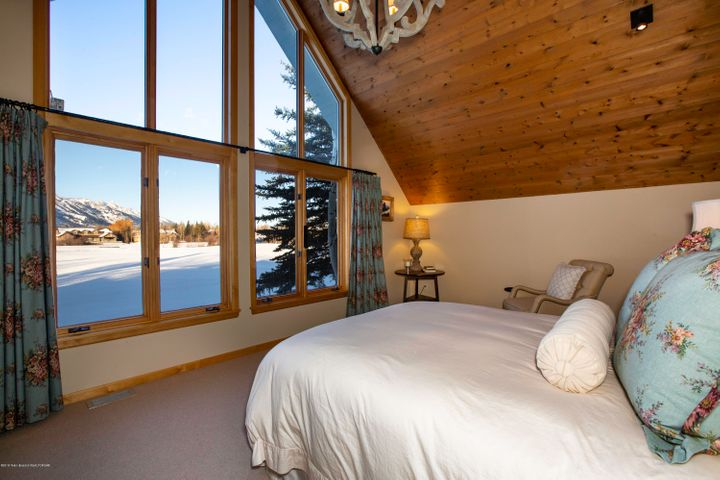 Master Bedroom Teton View
