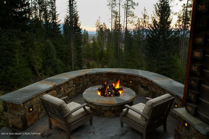 11 - Firepit + Views to North