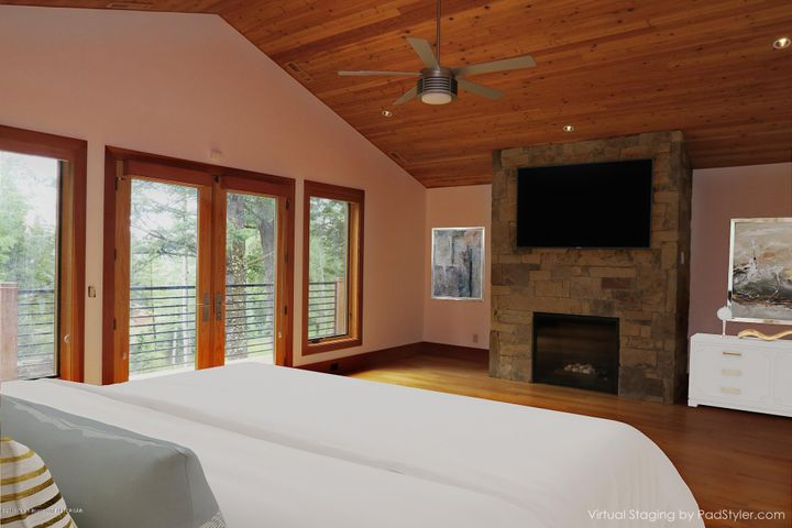 Master Bedroom Furnished