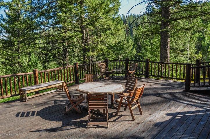 lower deck of cabin - summer
