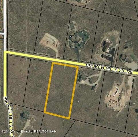 TBD BROKEN HILLS, Pinedale, WY 82941