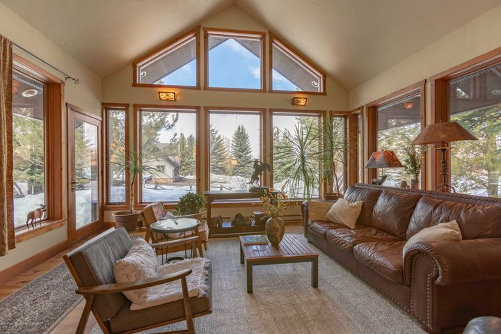 Living Room with Grand Teton View