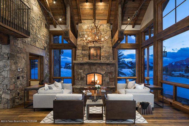 Fireplace Evening