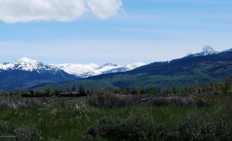 View across the city park