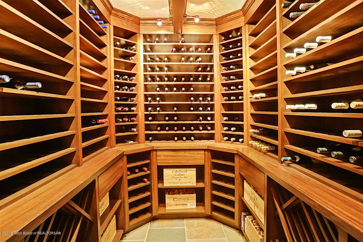 700+ Bottle Wine Cellar