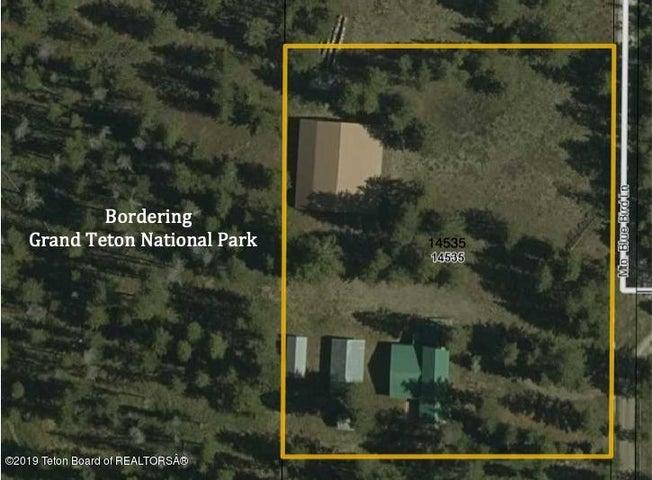 Bordering Grand Teton National Park