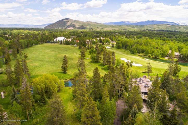 16. Location in Teton Pines
