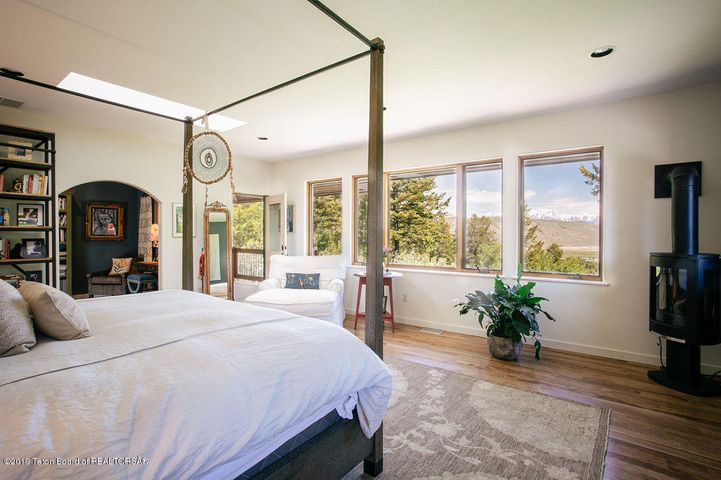 Master Suite with Teton Views
