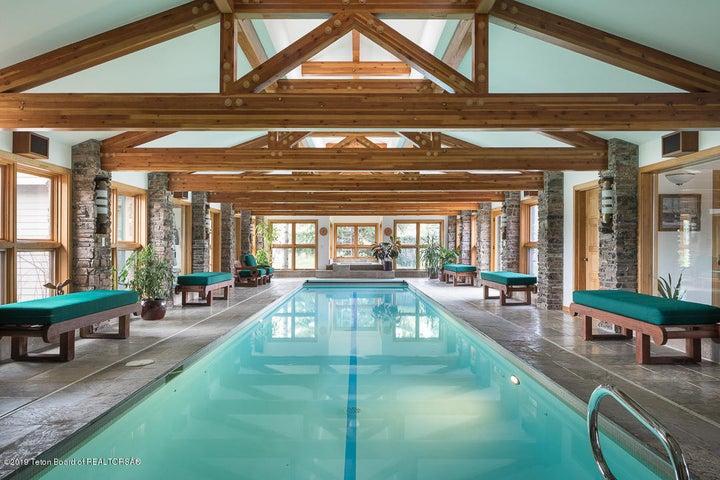 50ft. long pool