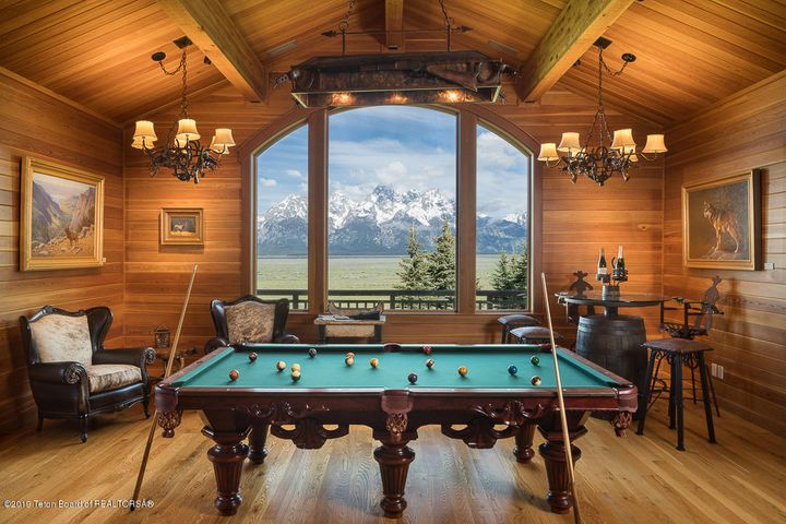 Billiard Room with Views