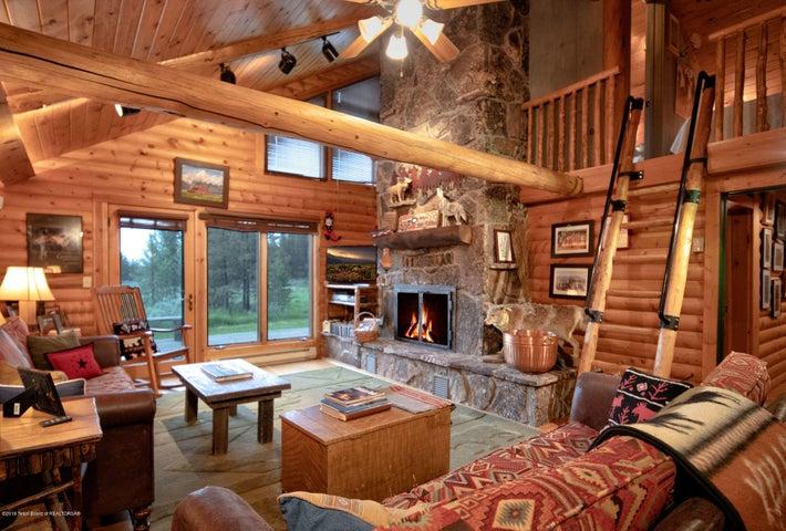 Main Living and loft area