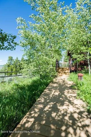 Walkway to Guest Cabin
