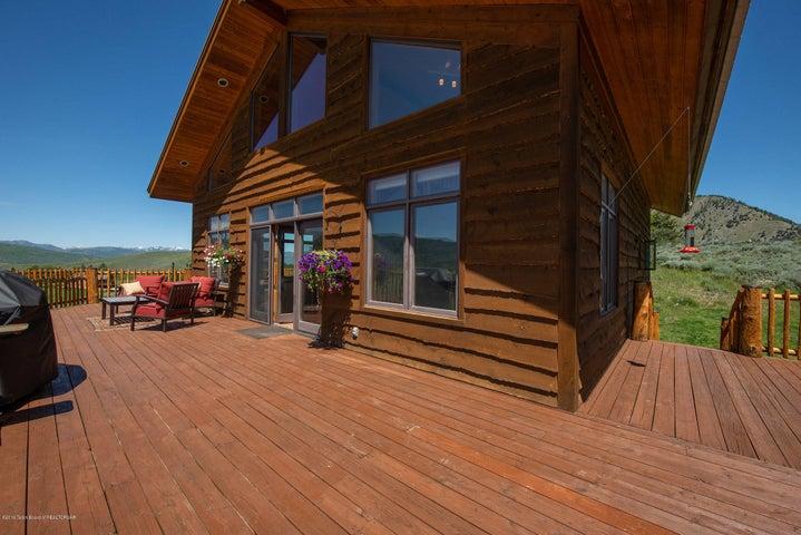 Expansive Deck Space
