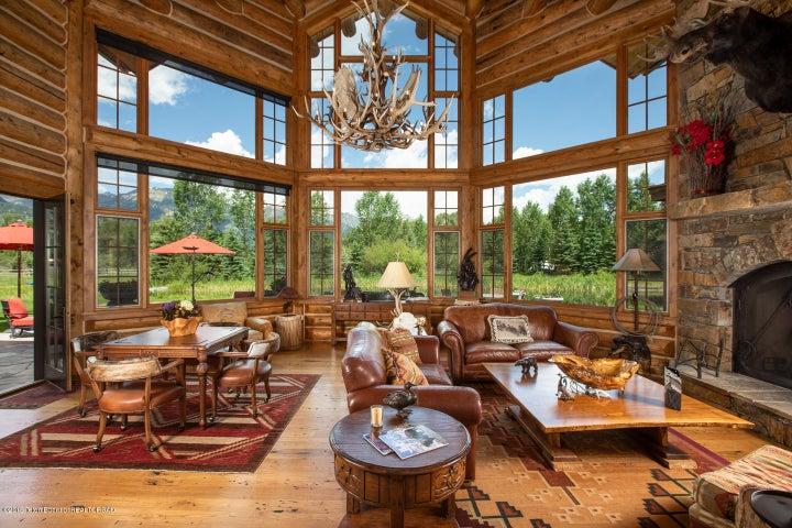 Great Room with Teton Views