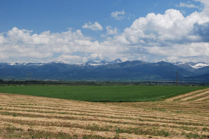 Views across conservation property towards the Teton River