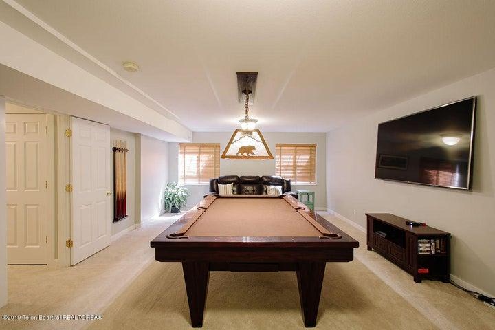 Billiard or Media Room