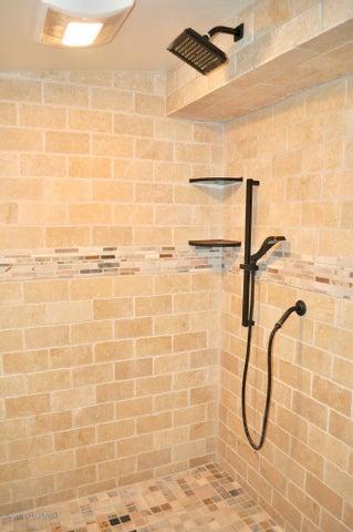 Walk-In Shower in Owner's Quarters